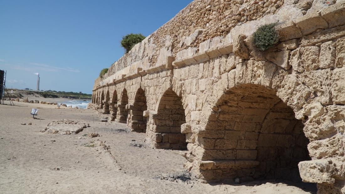 Aqueduct from Caesarea