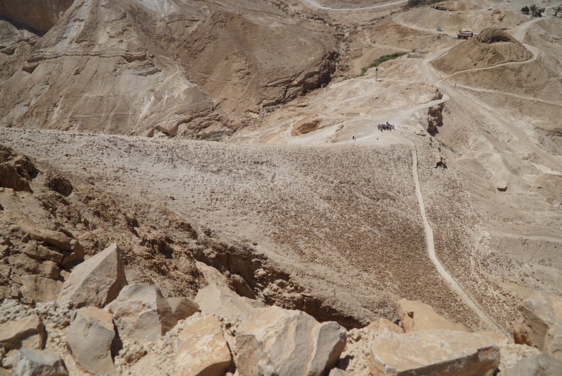 Roman Siege Ramp at Masada